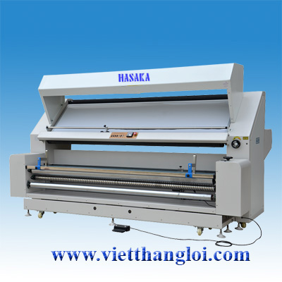 Multifunctional Fabric Inspection, Loosening and Folling Machine With Edge Alignment