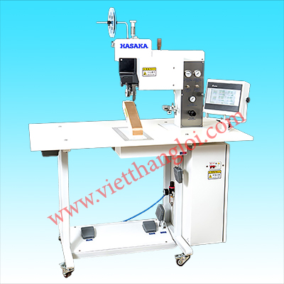 Adhesive tape & hemming edge machine