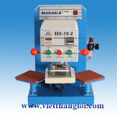 Máy ép nhiệt tự động HS-15X15