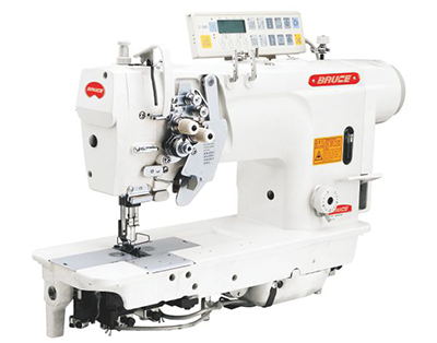 Double needle computer sewing machine