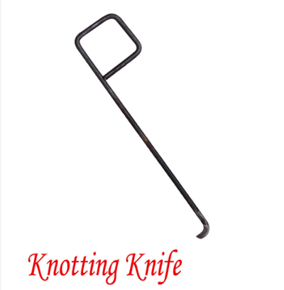 Knotting knife