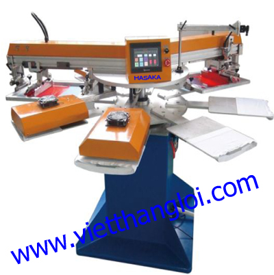 Single color  lable silk screen printing machine