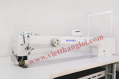 EXTRA LONG ARM TEMPLATE SEWING MACHINE