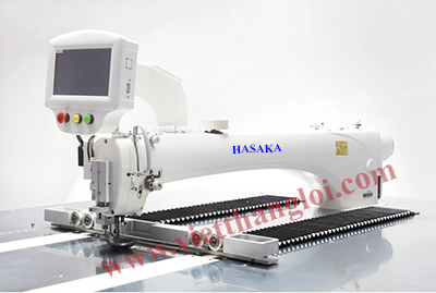LARGE SPACE AUTOMATIC TEMPLATE SEWING MACHINE