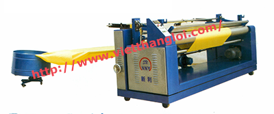 vertical grain open volume clothing automatic roll into machine